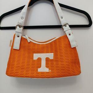 Alan Stuart N.Y University Kentucky Handbag Womens Blue /& White NEW
